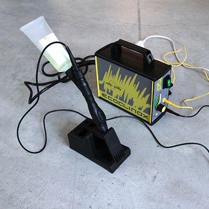 エスティジェイ ステンレス溶接焼け取り装置 D×W×H:210×80×170mm エコクリノックス ブラシセット STJA0001