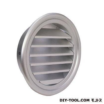 西邦工業 外壁用アルミ製換気口(フラットグリル)ガラリ型大口径 (SXL225)
