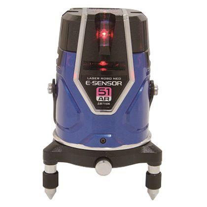 シンワ測定 シンワレーザーロボNeo_E_Sensor51ARフルライン ブルー 71506