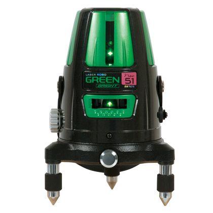 シンワ測定 シンワレーザーロボNeo51BRIGHT グリーン 78276