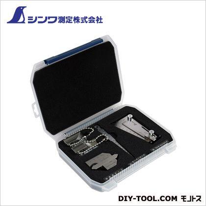 シンワ測定 シンワ鉄骨精度測定器具5点セット 40×195×234mm 97575