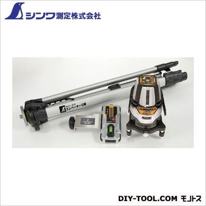 シンワ測定 レーザーロボ Neo 21ARBRIGHT 受光器・三脚セット 本体:128×128×190mm 78219