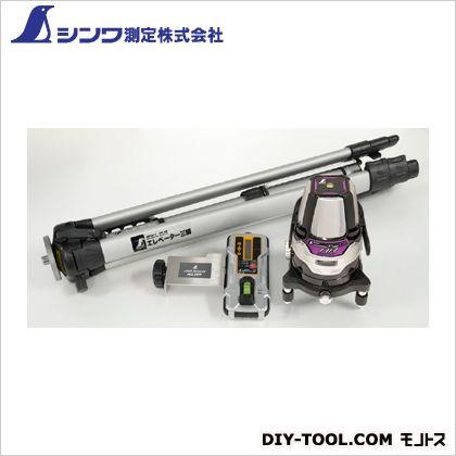 シンワ測定 レーザーロボ Neo 01ARBRIGHT 受光器・三脚セット 本体:128×128×190mm 78218