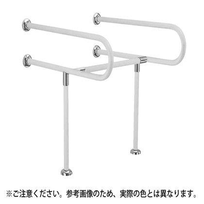 シロクマ C型丸棒手摺(洗面器用) 34φ (NO-858)