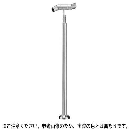 シロクマ フレキシブルジョイント支柱(ベースプレート式) アンバー 35φ (ABR-723B)