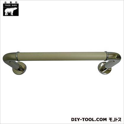 シロクマ 丸棒ニギリバー 鏡面/アイボリ H150×600mm NO-700