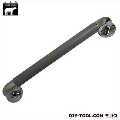 シロクマ パッドニギリバー クローム/グレー 60×600mm NO-800