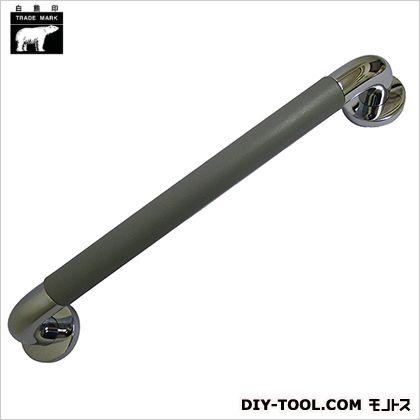 シロクマ パッドニギリバー クローム/グレー 60×450mm NO-800