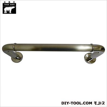 シロクマ 丸棒ニギリバー 鏡面/ヘアーライン 150×600mm NO-700
