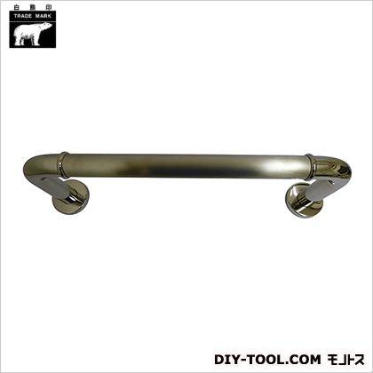 シロクマ 丸棒ニギリバー 鏡面/ヘアーライン 150×450mm NO-700