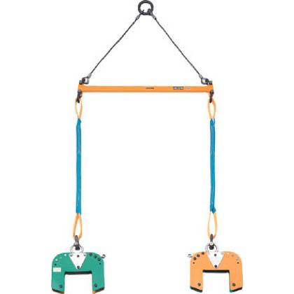 スーパーツール スーパー木質梁専用吊クランプ天秤セット  BLC200S 1 S
