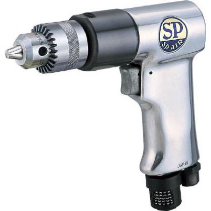 エス・ピー・エアー SP サイレンサー付エアードリル10mm 1台 SP1522  SP1522 1 台