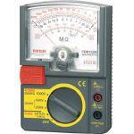 三和電気計器 SANWA アナログ絶縁抵抗計 1000V/500V/250V 1個 PDM1529S  PDM1529S 1 個
