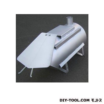 鈴木工業 D51L型薪ストーブ シルバー D475mm×1200 (D-51L) ストーブ 電気ストーブ 石油ストーブ 灯油ストーブ 暖房 暖房機 暖房器具
