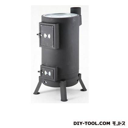 サンカ 丸型薪ストーブ ブラック w380×D510×H900 OS-0675 台
