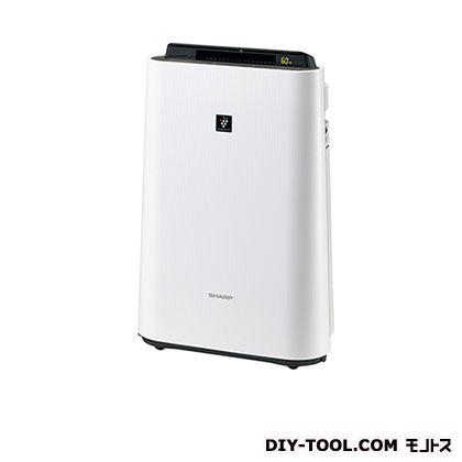 シャープ 加湿空気清浄機 ホワイト 幅×奥行×高さ:399×230×615mm KC-E50-W