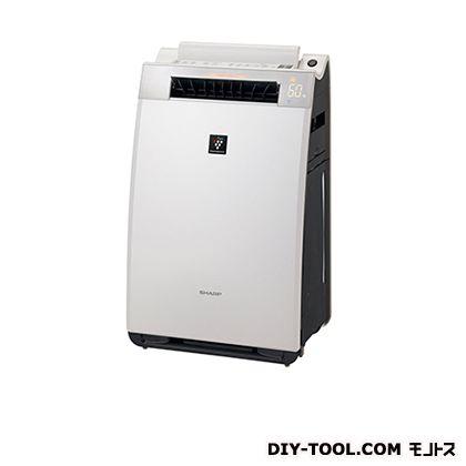 シャープ 加湿空気清浄機 ホワイト 幅×奥行×高さ:392×265×635mm KI-EX55-W:DIY FACTORY ONLINE SHOP