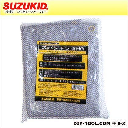 スズキッド スパシャッタHG(ハイグレード)スパッタシート両面シリコンシート溶接火花受けシート 1m×2m p-499