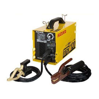 スズキッド インバータ直流溶接機アイマックス120 100V/200V自動切換溶接器 SIM-120