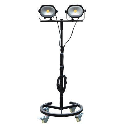 VECRUZ 調色用LEDライト SoLED(ソリッド) W550mm×L550mm×H300~1800mm VPA-101L 台