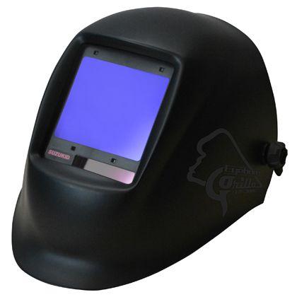 スズキッド アイボーグ・GORILLA(ゴリラ)液晶式自動遮光溶接面 ブラック (EB-300G)