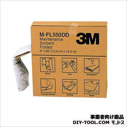 3M 1着でも送料無料 スリーエム 液体吸収材 新商品!新型 メンテナンスソーベント 巻 MFL550DD フォールデッドタイプ 1