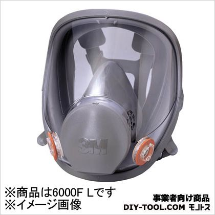 3M(スリーエム) 防毒マスク全面形面体 ラージサイズ  6000FL 1 個