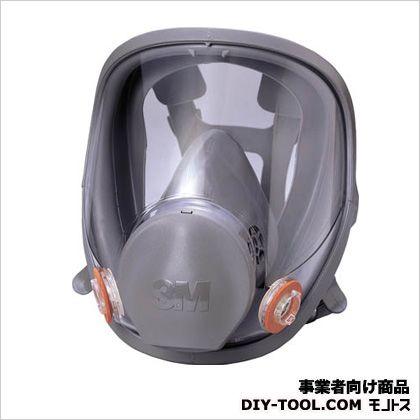 3M(スリーエム) 防毒マスク全面形面体 ミディアムサイズ  6000FM 1 個