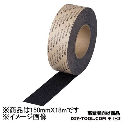 3M(スリーエム) セーフティ・ウォークタイプA 黒 150mm×18m (ABLA150) 1本