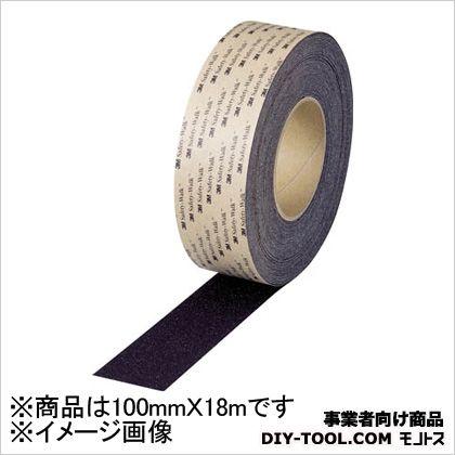 3M(スリーエム) セーフティ・ウォークタイプB 黒 100mm×18m (BBLA100X18) 1本
