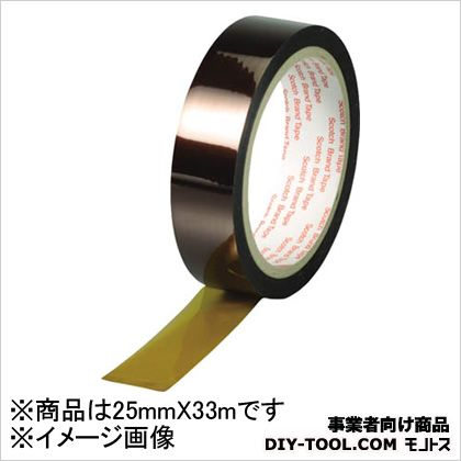 3M(スリーエム) 耐熱マスキングテープ 25mm×33M 5413 25X33 1巻