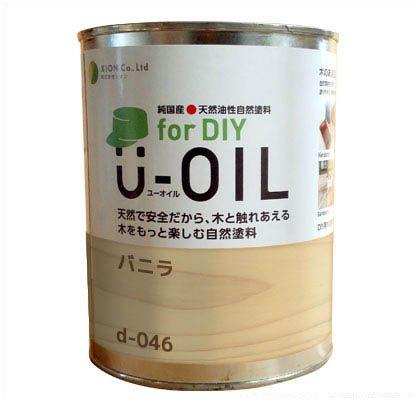 シオン U-OIL for DIY 天然油性国産塗料 バニラ 3.8L d-046-5