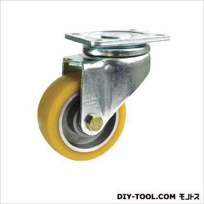シシク 重荷重用キャスター 自在 100径 ウレタン車輪  LHALTH101K1
