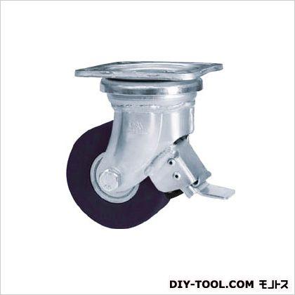 シシク 低床超重荷重用キャスター 100径 ユニクロ MCMO車輪 (×1個)  DHJB100UMCMO