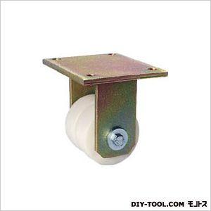 シシク 低床重荷重用双輪キャスター 固定 100径 (×1個)  BSDGSPO100K
