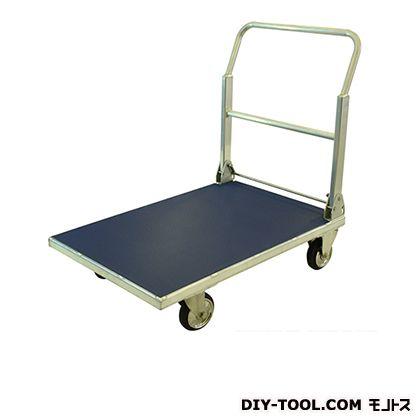 シシク 運搬台車 (アルミ製、ハンドル折りたたみ) 荷台サイズ:600×900mm MA-AL