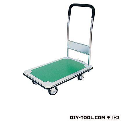シシク 運搬台車 (スチール製鋼板補強ボディ、ハンドル固定) 荷台サイズ:440×700mm DSB