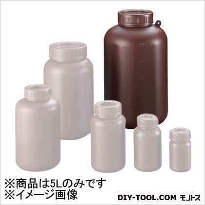 サンプラ サンプラ PE広口遮光瓶 5L  2916