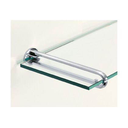 スガツネ(LAMP) ステンレス鋼(SUS316)製ガラス棚受 (ZL-2201-240)
