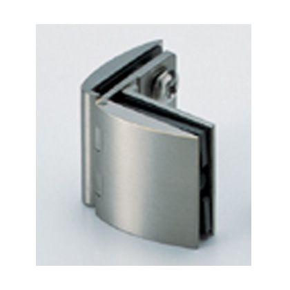 スガツネ(LAMP) ガラス丁番 GH-450G型 ガラス側板用(90°タイプ)、インセット扉用 (GH-450G-SN)