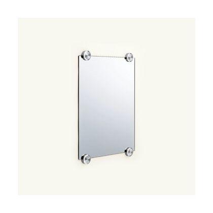 スガツネ(LAMP) ステンレス鋼(SUS316)製鏡押え  ZL-3102-40