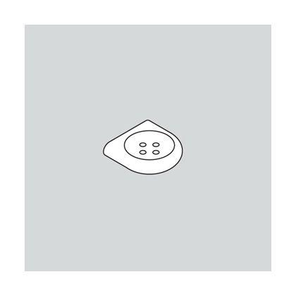 スガツネ(LAMP) 石鹸受 477-02-200型 ホワイト (477-02-200-99)