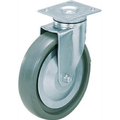 スガツネ(LAMP) 重量用キャスター径203自在ソリッドエラストマー車  31408PSE