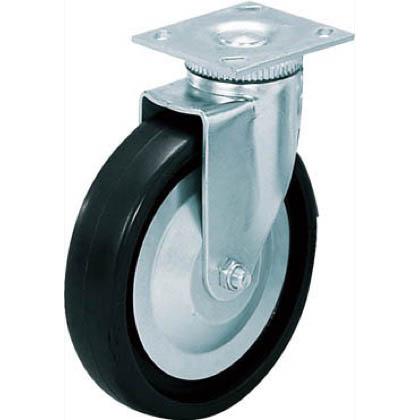 スガツネ(LAMP) 重量用キャスター径127自在クロロプレンゴム車  31405PD