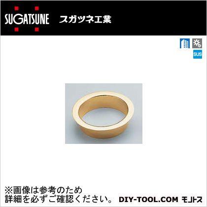 スガツネ(LAMP) ステンレス鋼製屑入投入口 フタ無 本金めっき+クリアー AN-DH015-GP
