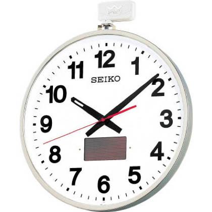 SEIKO ソーラー屋外用大型電波掛時計(金属枠) 1 527×450×78mm SF211S 1 SF211S 527×450×78mm 個, 柴田町:0e840861 --- officewill.xsrv.jp