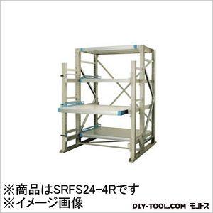 三進金属工業 フルスリードラック1375X900XH2400連結板棚  SRFS244R