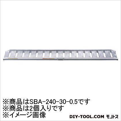 昭和 SBA型ブリッジ2個1組  SBA-240-30-0.5 2 枚