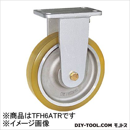 末廣車輌製作所 リボキャスター固定車 ウレタン車輪 Φ150 (×1個)  TFH6ATR