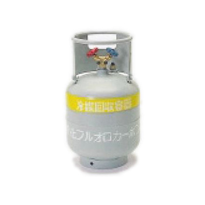 タスコ フロートセンサー付回収ボンベ 幅×奥行×高さ:300×300×545mm (TA110-20)